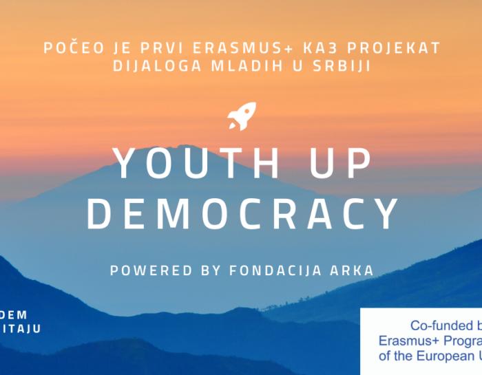 Počeo YouthUp Democracy projekat!